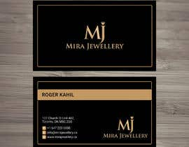 #96 untuk Design a Business Card for a Jewellery Company oleh looterapro01