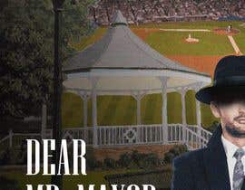 """Nro 31 kilpailuun I need a illustration for a musical production called """" Dear Mr Mayor"""". The gazebo being the main focus and the baseball field in the background with a gruff looking Mayor in the front left. käyttäjältä xareef"""