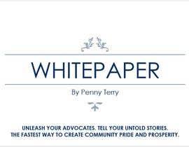 AhmedGamalHus tarafından Corporate PDF document - Whitepaper için no 10