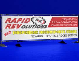 nº 39 pour New Banner for trade show 10ft by 3ft par atidoria