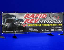 #57 for New Banner for trade show 10ft by 3ft by atidoria
