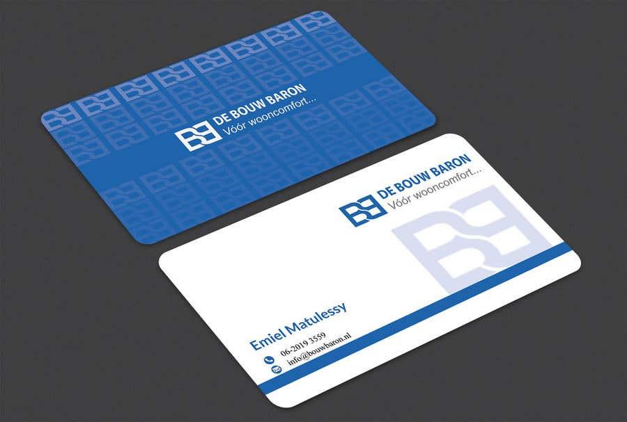 Inscrição nº 85 do Concurso para business card contractor