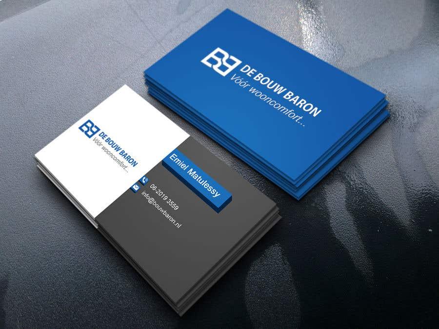 Inscrição nº 325 do Concurso para business card contractor