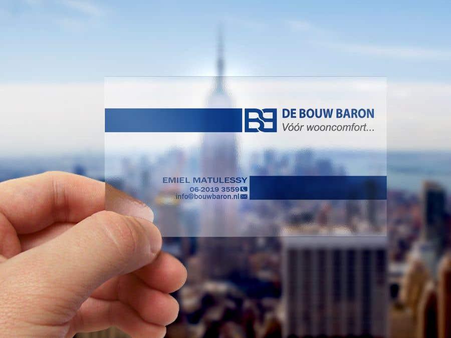Inscrição nº 268 do Concurso para business card contractor