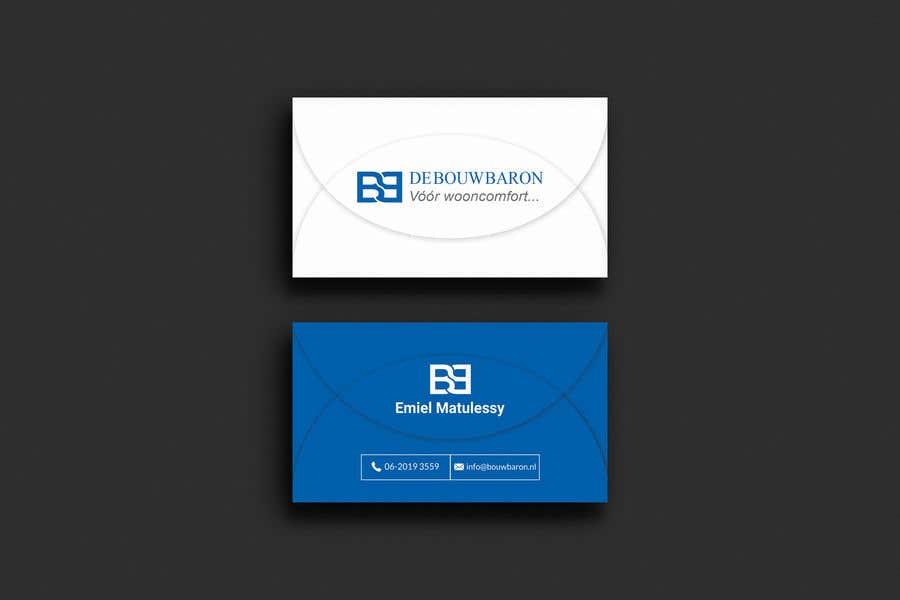 Inscrição nº 171 do Concurso para business card contractor