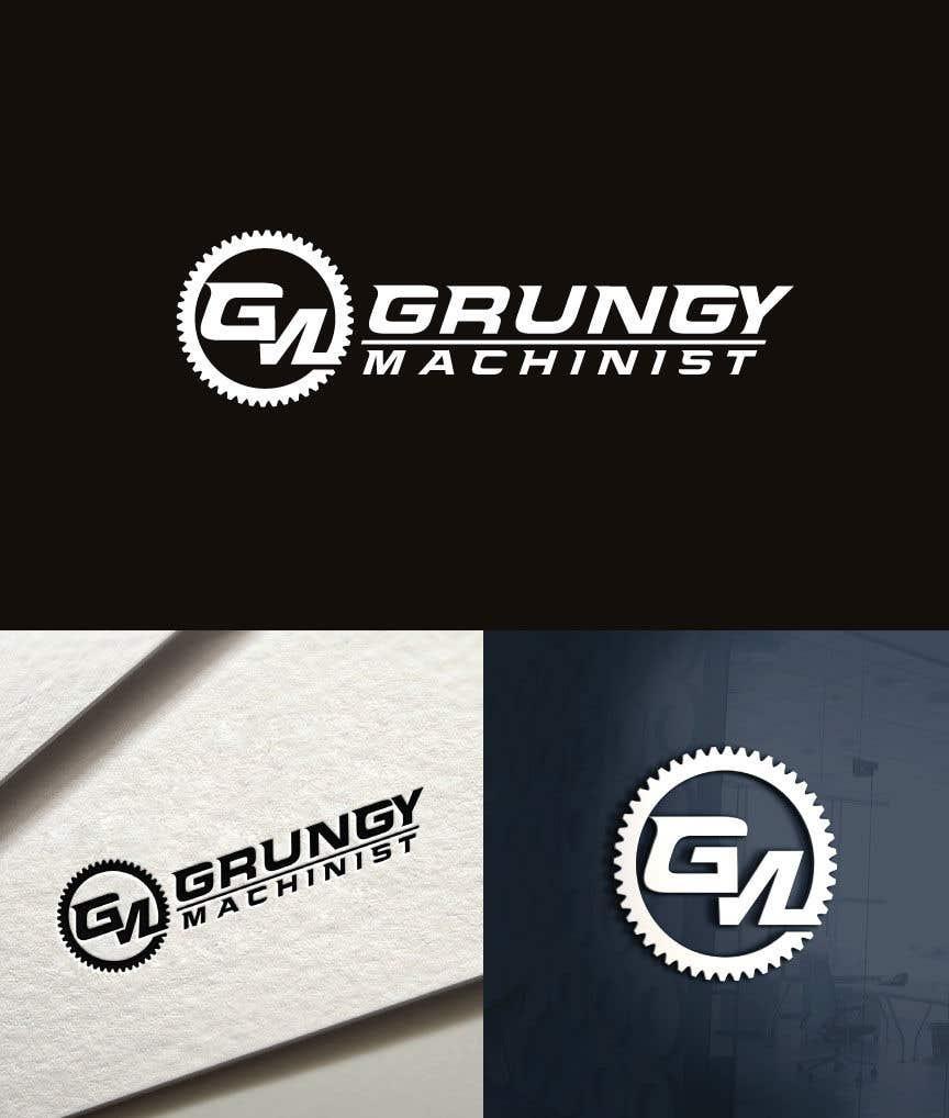 Konkurrenceindlæg #20 for Grungy Machinist Logo