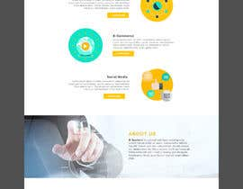 #26 для Homepage Mockup for IT Specialist от leandeganos