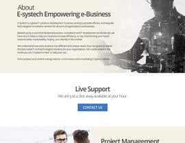 #7 для Homepage Mockup for IT Specialist от rahoolteaches7
