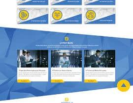 #11 для Homepage Mockup for IT Specialist от GalaxyDesigns