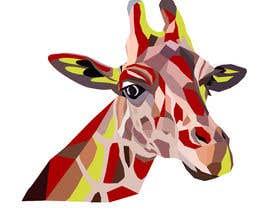 #3 para Create colored giraffe prints por Pandred