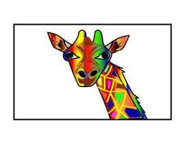 #5 para Create colored giraffe prints por diptidipti10