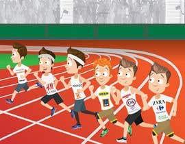 nº 22 pour Cartoon for digital book cover par jamhdesing