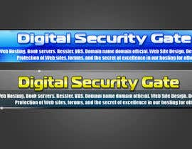 #53 pentru Banner Ad Design for Digital Security Gate de către conzlab