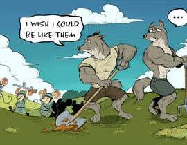 nº 30 pour Motivation picture - cartoon par zuart