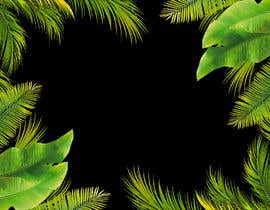 #70 para Design a palm tree/banana leaf pattern I can use for my product por designbymone
