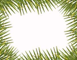 #7 para Design a palm tree/banana leaf pattern I can use for my product por SCreativeGenius