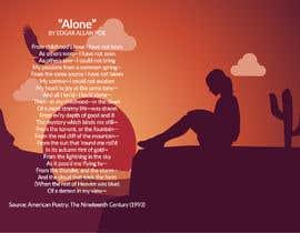 """Nro 92 kilpailuun Edgar Allan Poe's """"Alone"""" käyttäjältä alfasatrya"""