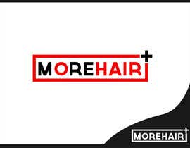 #63 para Logo Design for MOREHAIR por finestthoughts