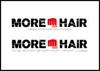 Graphic Design Konkurrenceindlæg #118 for Logo Design for MOREHAIR