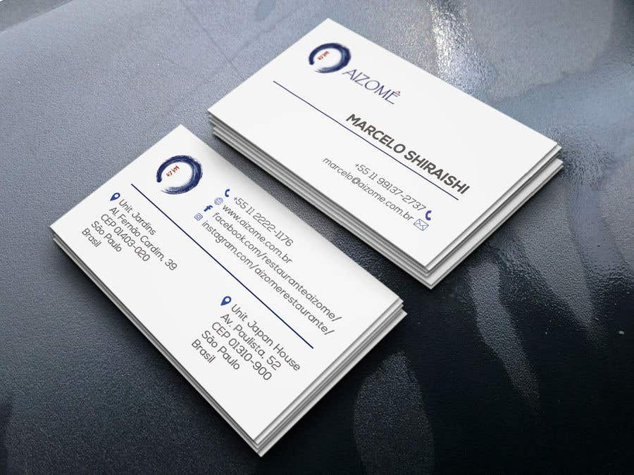 Kilpailutyö #224 kilpailussa Restaurant Business Card