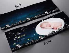 nº 21 pour Birth Announcement Card par scraaz70