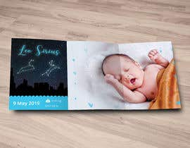 nº 10 pour Birth Announcement Card par seeratarman
