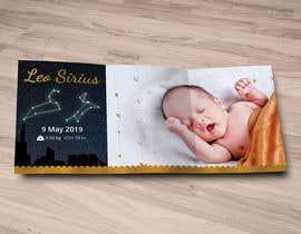 nº 12 pour Birth Announcement Card par seeratarman