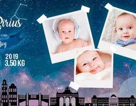 nº 26 pour Birth Announcement Card par marianayepez