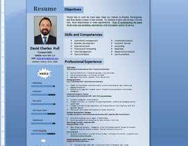 nº 13 pour Design a resume to assist job applications into the property sector par AkterGraphics