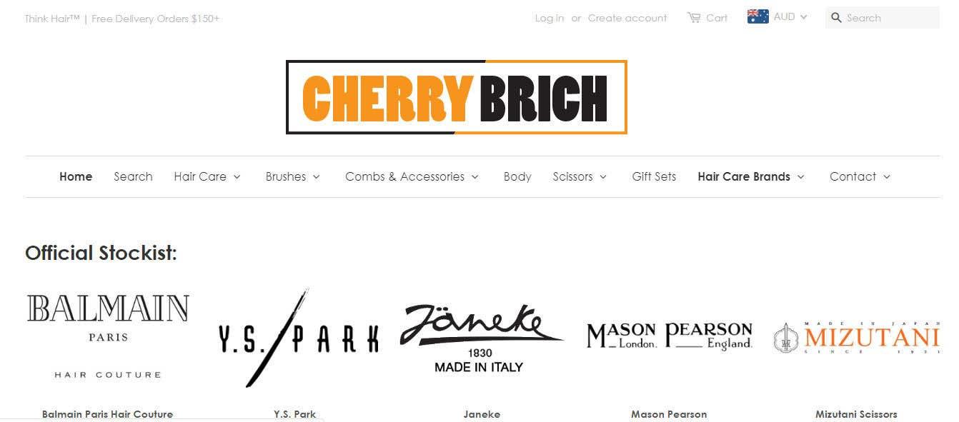 Penyertaan Peraduan #47 untuk Brand Expert Needed - UI\Theme + logo for Cherry Birch