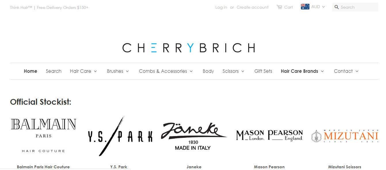 Penyertaan Peraduan #49 untuk Brand Expert Needed - UI\Theme + logo for Cherry Birch
