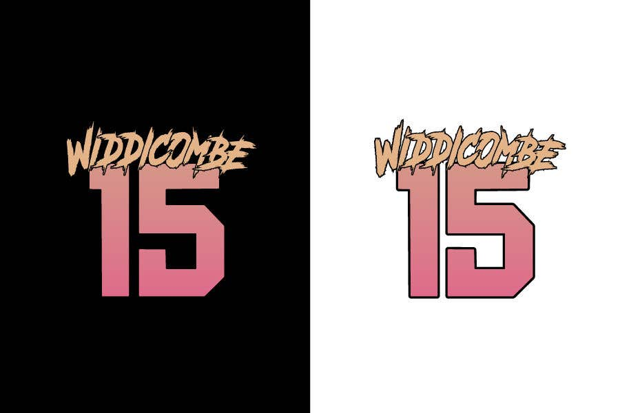 Inscrição nº 9 do Concurso para I need Widdicombe on the top like this and 15 below same colors as pictures