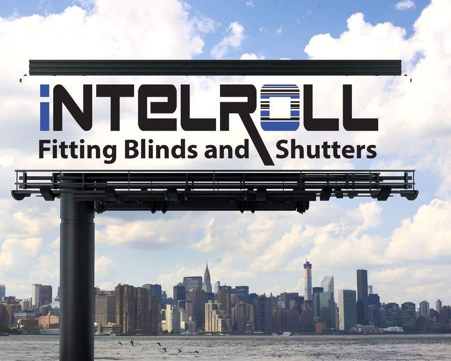 Kilpailutyö #133 kilpailussa Logo Design for IntelRoll (Blinds and shutters) company