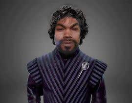 #3 para My face imposed on Tyrion Lannister's body keeping his hair but black & scare on face. por srinivasnahak