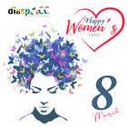 Graphic Design Kilpailutyö #37 kilpailuun International woman day - March 8th
