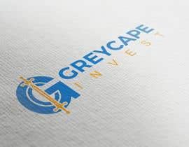 """#13 untuk name """"Greycape Invest"""". Thinking like a G with an C and two swords that is like the I. It can also be something like a medieval cape in logo. oleh bluebd99"""
