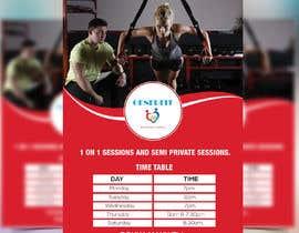 Nro 63 kilpailuun fitness flyer käyttäjältä moslehu13