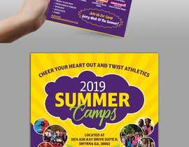 #5 for Summer Camp Flyer by dissha
