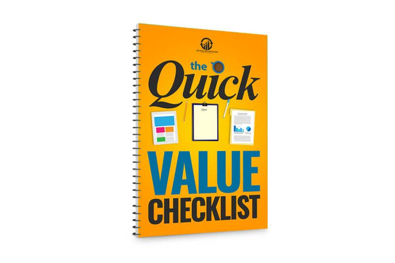 Contest Entry #41 for Quick Value Checklist
