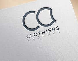 #14 for Clothiers Arsenal logo design af bluebd99