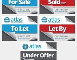 #31 untuk Design a board for estate agent in UK oleh adcorepro