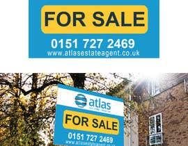 #19 untuk Design a board for estate agent in UK oleh SufyanBranding