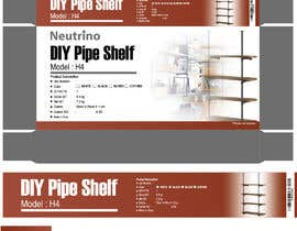 #13 for Package Design for a Home Shelving Unit af raihan1212