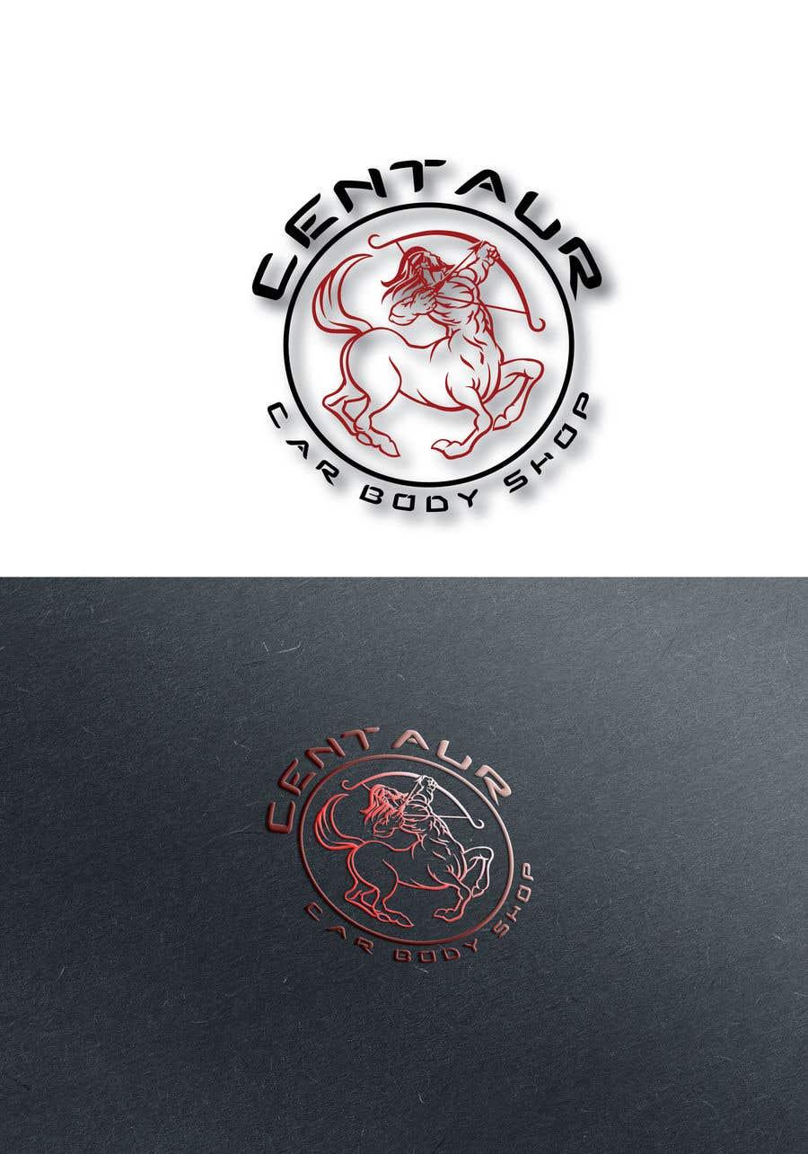Kilpailutyö #37 kilpailussa create a logo for Centaur Car Body Shop