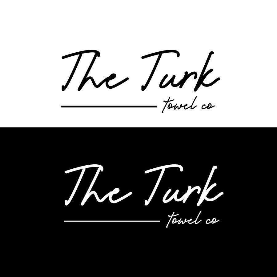 Inscrição nº 21 do Concurso para Create a simple logo using font only for a turkish towel brand