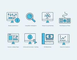 #19 untuk Design 8 Modern and Simple Icons for Our New Website oleh babarhossen