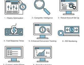 Alejandro10inv tarafından Design 8 Modern and Simple Icons for Our New Website için no 26