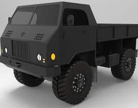 #5 for VEHICLE MODEL (3D PRINTABLE) FROM REFERENCE MATERIAL by oyeyemidiran