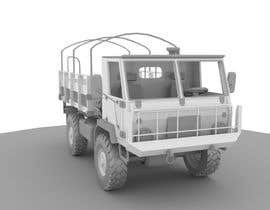 #15 para VEHICLE MODEL (3D PRINTABLE) FROM REFERENCE MATERIAL por KhangHoangg