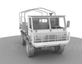 #20 para VEHICLE MODEL (3D PRINTABLE) FROM REFERENCE MATERIAL por KhangHoangg